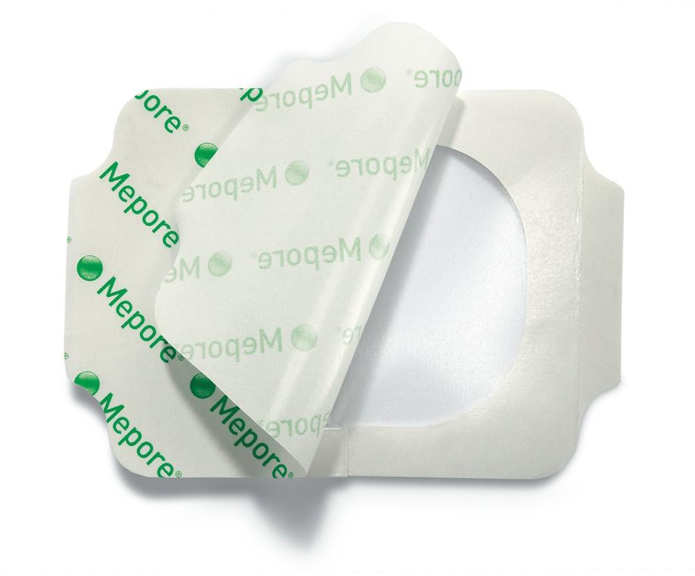 Mepore Film повязка пленочная на рану стерильная, прозрачная, водонепроницаемая 6 х 7 см
