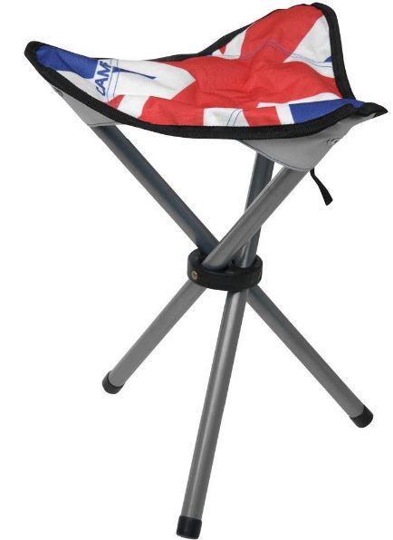 Туристический раскладной стульчик 3 ножки