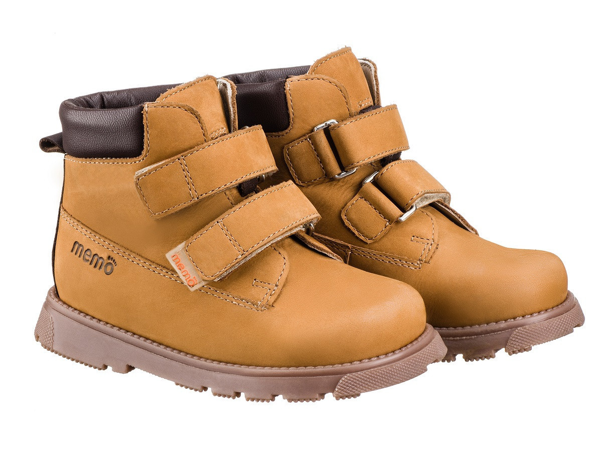5271d4c60 Купить Ботинки ортопедические для детей Memo Malmo 1FD Коричневые в ...