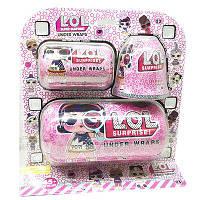 """Кукла  L.O.L. ( ЛОЛ ) """" Большой  набор Under Wraps Капсула, Капсула маленькая, комплект аксессуаров"""""""