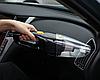 Автомобильный пылесос с фонариком беспроводный