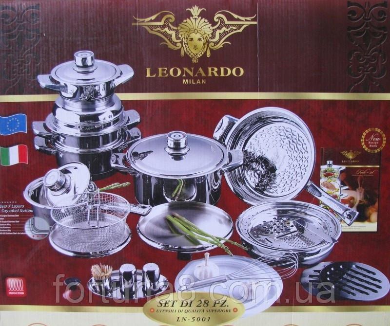 Набір кухонного посуду LEONARDO MILAN