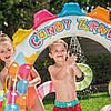 """Детский игровой надувной центр """" Карамель """" с шариками, фонтаном  и горкой ., фото 4"""