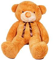 Мягкая игрушка медведь Тедди 200 см Карамельный (196-19112835)