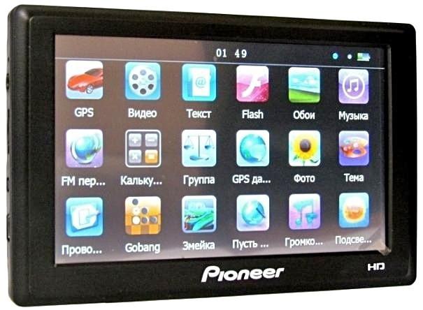 "GPS навігатор 7"" Pioneer P-70D"