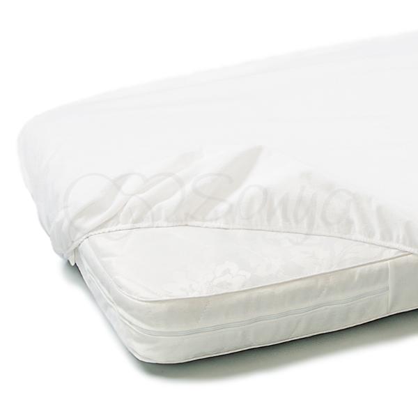 Наматрасник непромокаемый натяжной в детскую кроватку стандарт 60х120