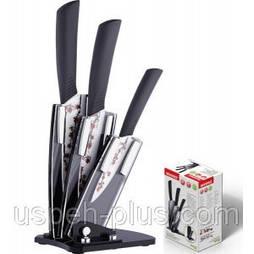 Набор керамических ножей на подставке Bergner BG 4100
