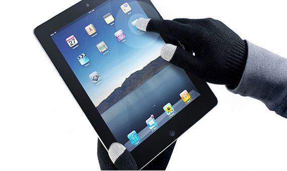 Перчатки для всех сенсорных экранов дисплеев IGlove Magic Touch