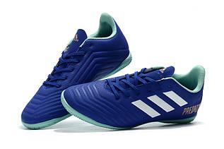 Футзалки Adidas Predator  1104 Синий