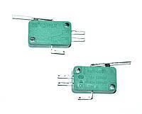 Микропереключатель для микроволновки KW1-103 (планка нажатия верхней клавиши L=27mm)