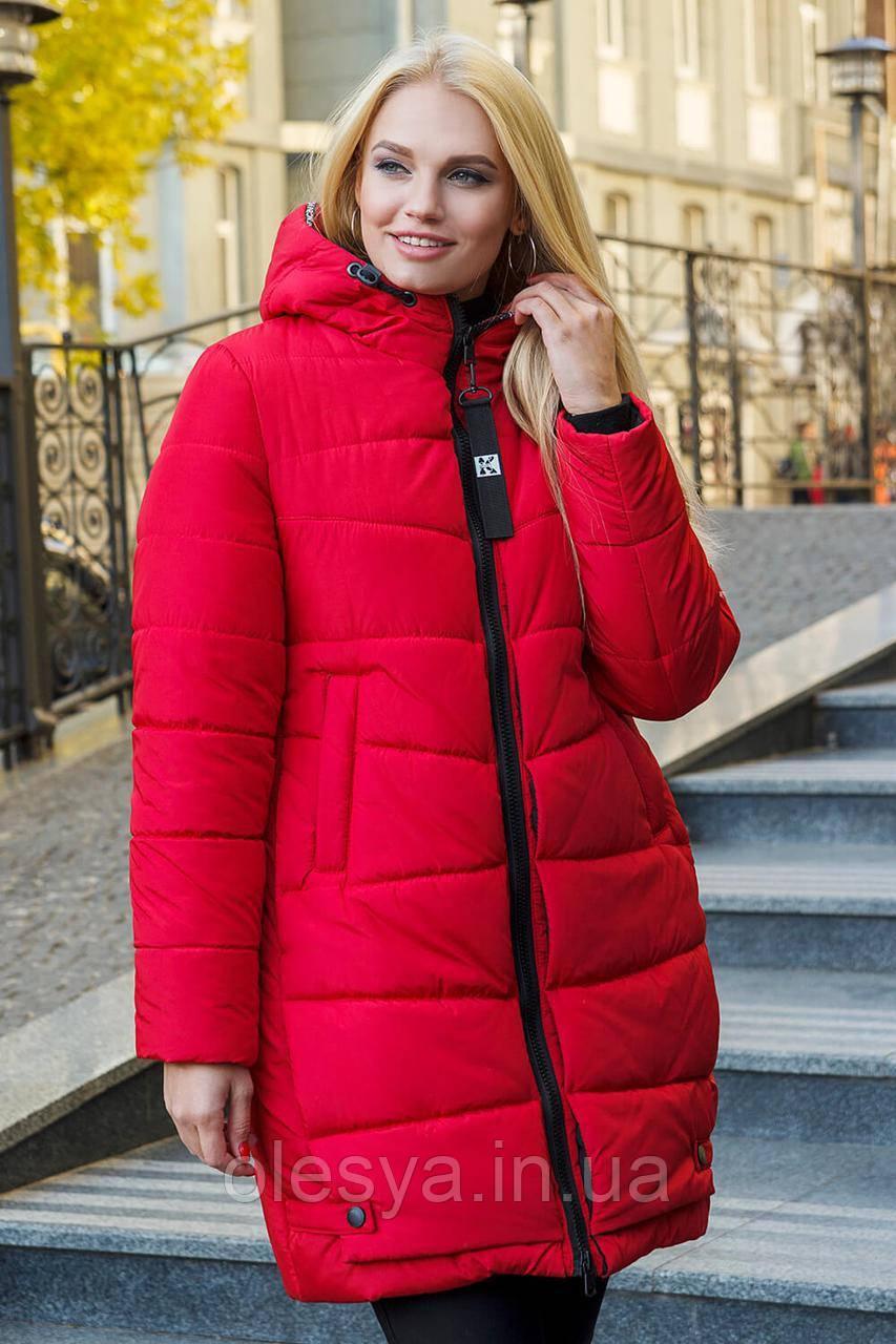 Зимняя женская куртка пуховик Николь размеры 42- 56