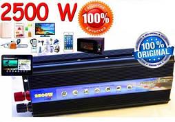 Преобразователь тока  12V-220V  2500W инвертор