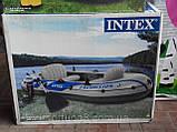 Надувная лодка Intex  Excursion 3 Set, фото 4