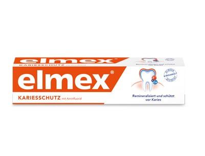 Зубна паста медична Elmex вiд карieсу 75мл. Нiмеччина