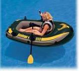 Надувная лодка Intex 68345 Seahawk 1, фото 2