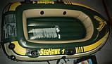 Надувная лодка Intex 68345 Seahawk 1, фото 4