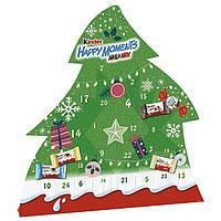 Рождественский календарь Kinder Happy Moments Mini Mix 133 г., фото 1