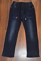 Утепленные джинсы для мальчика 140-176 р.