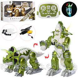 Динозавр трансформер на Радиоуправлении KD-8828ABРазмер 42 см, аккумулятор, музыка, свет, стреляет стрелами
