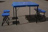 Пластиковый стол для пикника +4 стула, фото 3