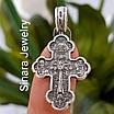 Срібний православний Хрестик Богородиця та ікони Святих - Хрестик срібло - Якимівський хрестик срібний, фото 3