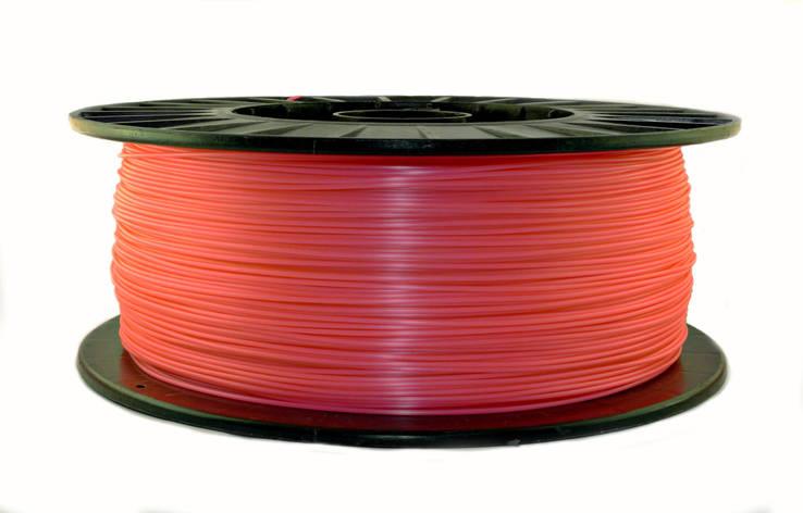 Розовый флюр (светоотражающий) PLA (1,75 мм/3 кг), фото 2