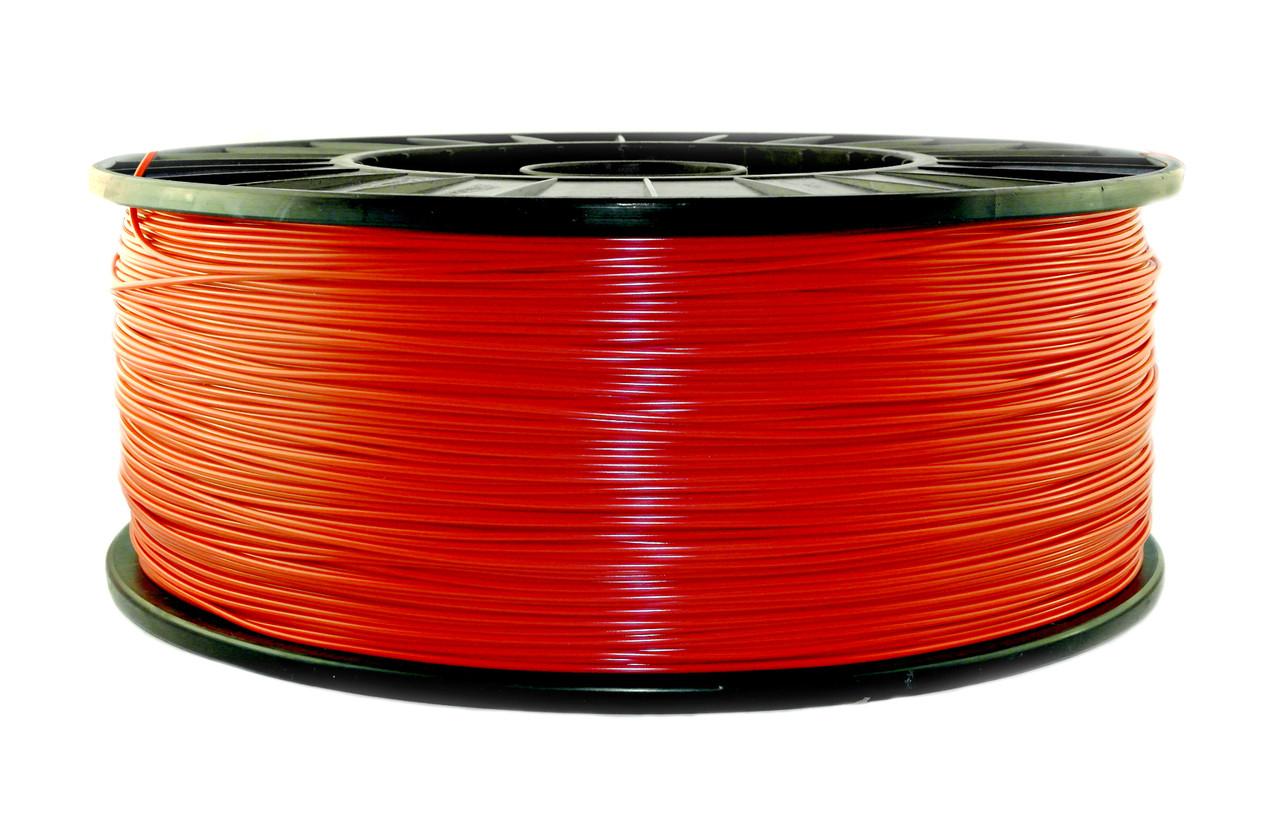 Нить PLA (ПЛА) пластик для 3D печати, Красный (1.75 мм/3 кг)