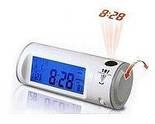 Годинник цыфровые-проектор з проекцією часу,підсвічуванням і жк-дисплеєм, фото 3