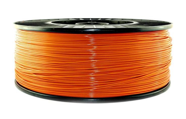 Нить PLA (ПЛА) пластик для 3D печати, Оранжевый (1.75 мм/3 кг), фото 2