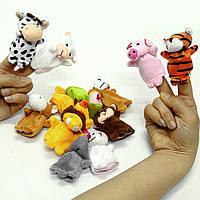 Пальчиковые игрушки 12штук набор
