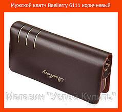 Мужской клатч Baellerry s6111 черный