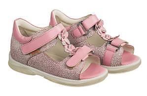 Ортопедические босоножки для девочек Memo Verona 3JB Розовые