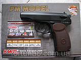 Пневматичний пістолет Макарова ПМ, фото 2