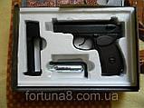 Пневматичний пістолет Макарова ПМ, фото 3
