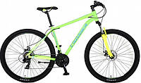 Велосипед Crosser Hunter 29 21 рама Салатовый (20181116V-449)