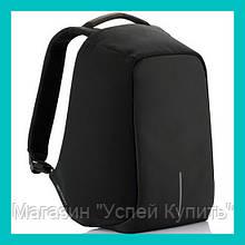 Рюкзак-антивор Bobby bag (черный, серый)