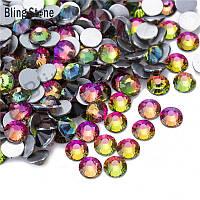 Стразы стекло! ss6  цвет -радуга, 100шт