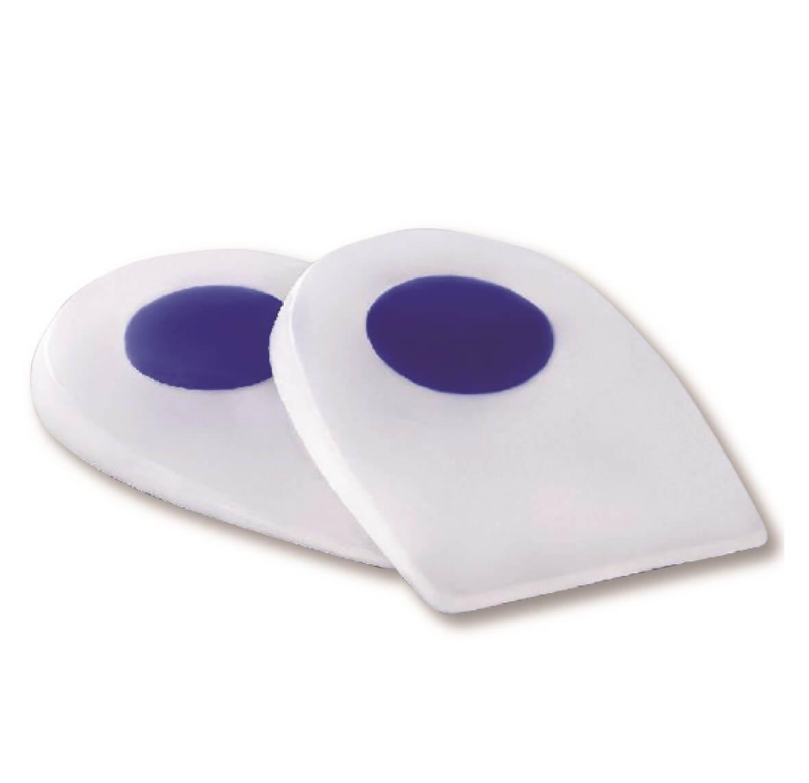 Силиконовые подпяточники Qmed Silicone heel pads I307