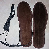 Стельки с подогревом (40°С) от USB шнура 36, 38, 40, 42рр, фото 1