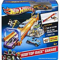 Трек Hot Wheels Rooftop Race Garage Подземный паркинг