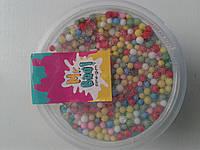 Антистрес-лизун ОКТО Mr.Boo з Плівковими кульками в баночці ( 27шт/уп) (70г) 5+