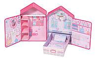 Домик спальня для куклы Zapf Baby Annabell Розовые сны с аксессуарами 794425