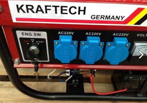 Генератор Kraftech 220/380 E