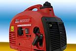 Инверторный бензиновый генератор swiss kraft 2000w, фото 3