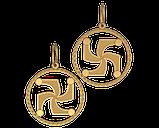 Подвеска - кулон серебряная СИМВОЛ РОДА 60088, фото 2