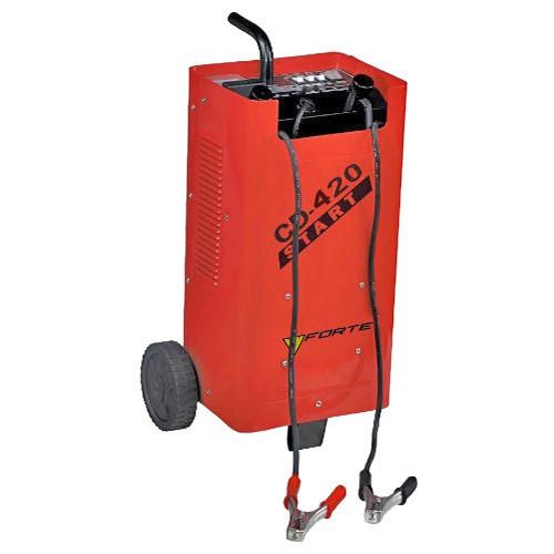 Пускозарядний пристрій Forte CD-420 220 В, зарядний струм 25/27 А акк.12/24 В ємністю 100-600 Аг пуск стру