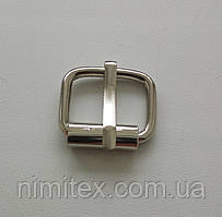 Пряжка литая 20 мм никель