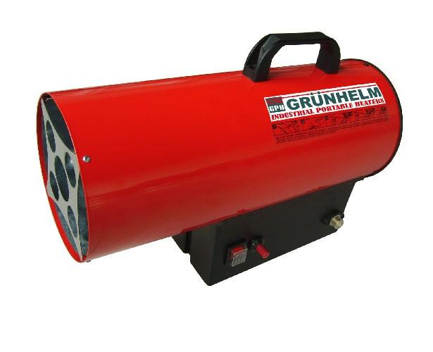 Газовий нагрівач GP 25 M - 3.9-30.2 кВт,650 м. куб/рік, газ пропан-бутан,розх палива 1.8-2.35 кг/рік, темп. на