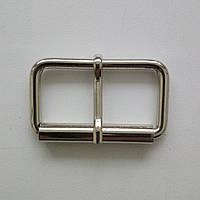 Пряжка лита 40 мм нікель