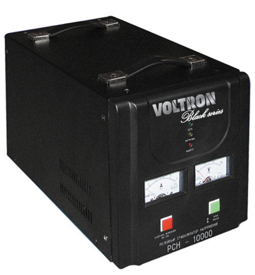Стабілізатор напруги FORTE MAX-500VA, релейного типу, потужність 500 ВА, точність 8%, вага 2.25 кг